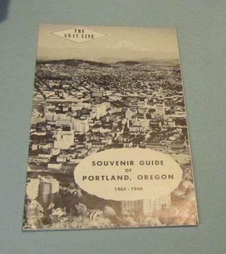 1965 1966 Gray Line Souvenir Guide of Portland Oregon Sanctuary Sorrowful Mother