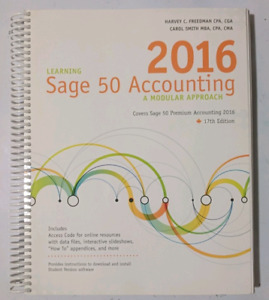 Learning Sage 50 Accounting 2016