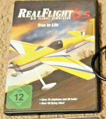 Real Flight R/C Simulator  6.5 w Interlink Elite Controller Futaba