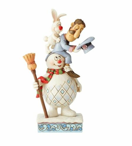 Frosty the Snowman by Jim Shore Frosty, Magician and Hocus Stack Figurine