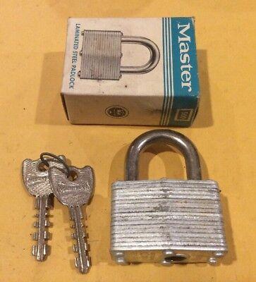 Master Lock 500 Laminated Steel Padlock Free Shipping