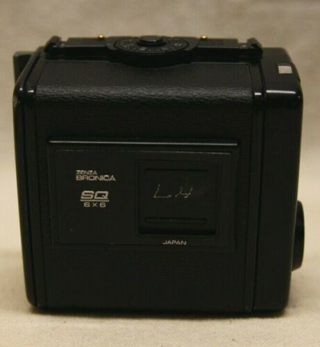 Zenza Bronica 220 SQ 6x6 Film Back