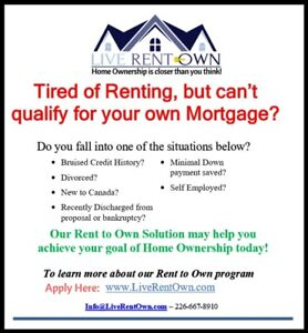 Bruised Credit? Rent to Own a home of your choice, Find out how!