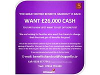 THE GREAT BRITISH BENEFITS HANDOUT'