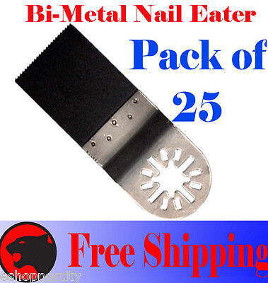 25 Nail Eater Oscillating Multi Tool Saw Blade Fein Multimaster Dremel Chicago