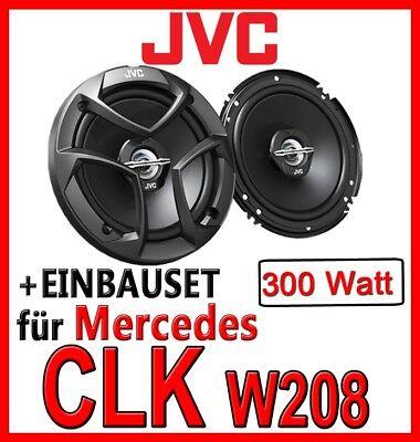 Mercedes CLK W208- JVC Lautsprecher BOXEN 16cm Tür vorne FRONT 300Watt Einbauset