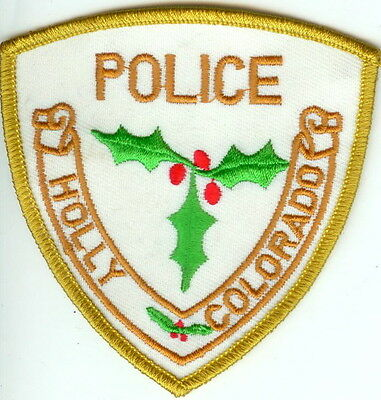 Holly Police Patch Colorado CO NEW!!