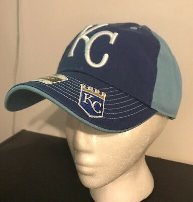 New Kansas City Royals Blue One Size Hat Fan Favorite NWT Adjustable - Kansas City Royals Hats
