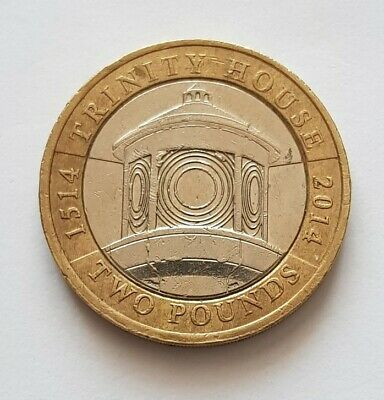 2014 Two Coin Trinity house 2 pound coin