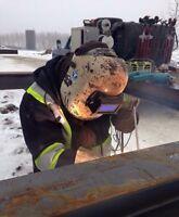 Willing to do unpaid work as a welders helper