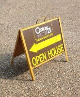 Realty House Signs for Open Houses