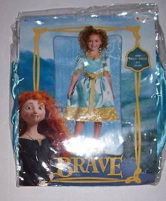 NWT DISNEY PIXAR BRAVE MERIDA COSTUME DRESS UP 4-6X](Pixar Up Costumes)