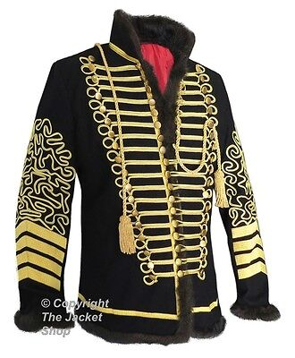 New! Hussars Jimi Hendrix Military Pelisse Tunic Jacket