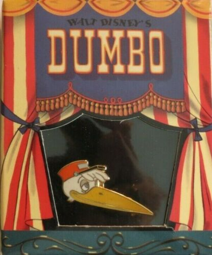 DISNEY GALLERY MR. STORK BIRD FROM DUMBO CIRCUS TENT BOXED LE 5000 PIN