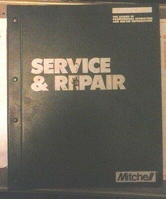 1988-89 MITCHELL Electrical Serv. & Repair Import Cars, Lt Trucks & Vans Vol. II