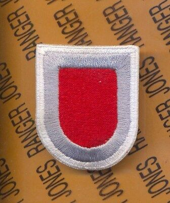 Beret Flash - US Army 54th Engineer Co Airborne beret flash patch c/e