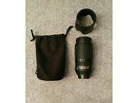 Nikon AF-S Nikkor 70-300mm F4.5-5.6 ED VR lens