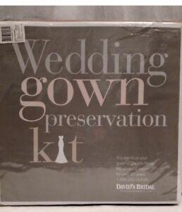 David's Bridal Wedding Gown Dress Preservation Kit $189 Retail