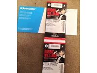 2 x robbie williams tickets murryfield standing