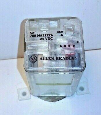 Allen Bradley 700-ha32z24 Ser A Relay 24 Volt Dc Coil