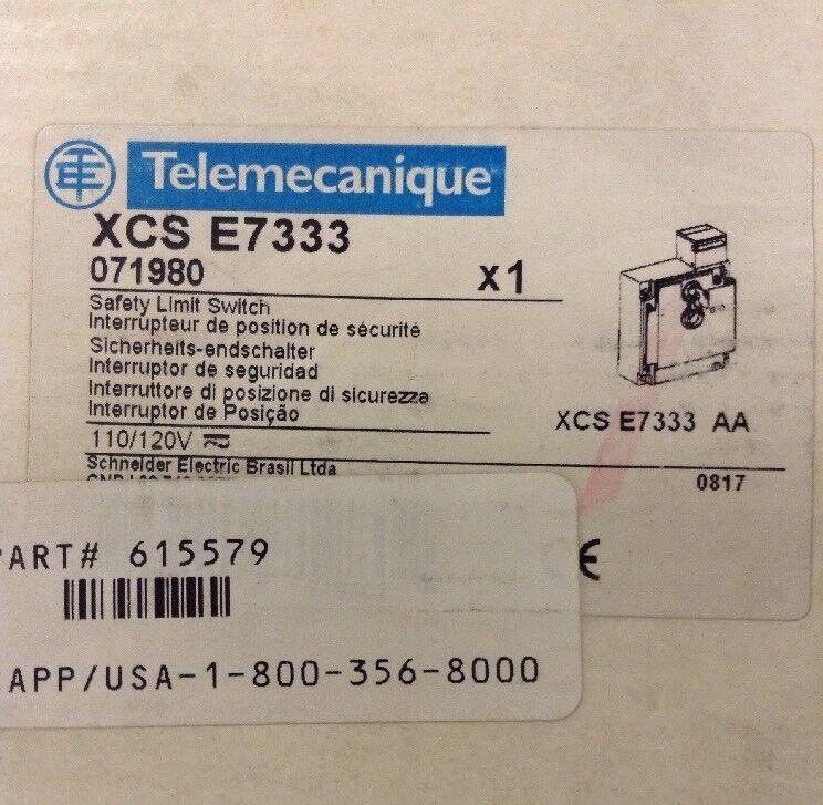 Telemecanique Safety Limit Switch XCS E7333