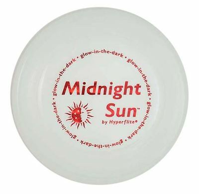 Hyperflite Midnight Sun Glow In The Dark Dog Frisbee BRIGHTEST DOG DISC US Made