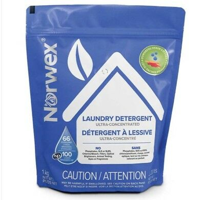 Norwex Laundry Detergent Formerly Ultra Power Plus Detergent HE Safe Powder Ultra Laundry Powder