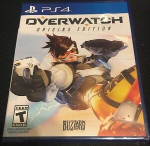 Overwatch Origins Edition PS4 (Brand New / Factory Sealed)