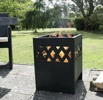 🔥Outdoor Fire Pit Patio Heater Log Burner Wood burner BRAND NEW Free P&P 🚛