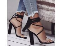 Size 6 sandal heels