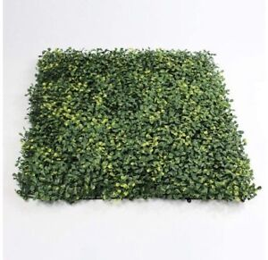 """Pack of 12 Faux Grass Greenery / Wall Decoration, 20""""x20"""""""