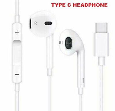Genuine USB Type-C Earphones Headphones For Samsung OnePlus Motorola Xiaomi Sony