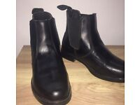 Size 5 Black Ankle Riding Boots