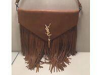 Ysl brown tassel bag