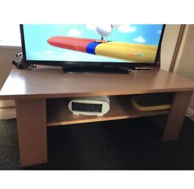Oak tv unit/ coffee table