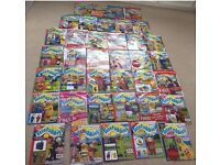 38 Teletubbies Magazines, unread & gifts still attached, no's 1-29 plus 9 special editions.