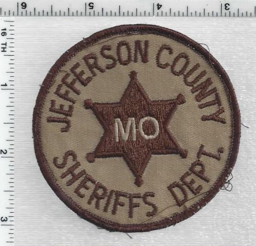 Jefferson County Sheriff (Missouri) 1st Issue Uniform Take-off Shoulder Patch