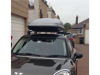 Mini Countryman Roof Bars and Roof Box