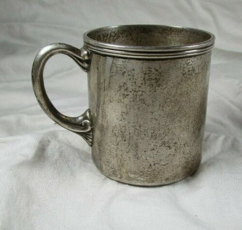 Antique Tiffany & Co. sterling silver baby cup