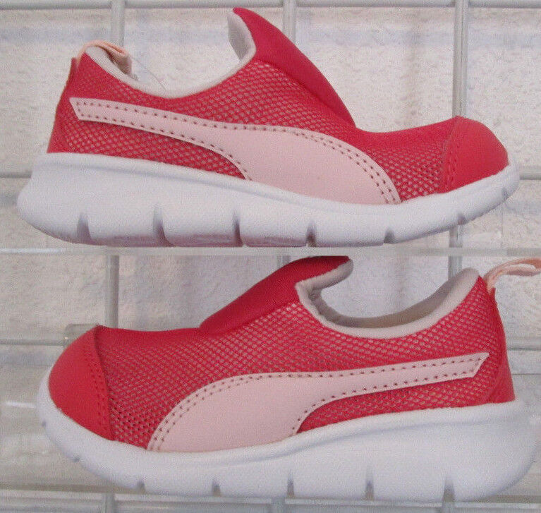 Baby's Puma Bao 3 Mesh Sneakers, New Pink-Perl Mesh Breathable Walking Shoes 7c