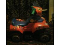 Mickey mouse electric quad bike