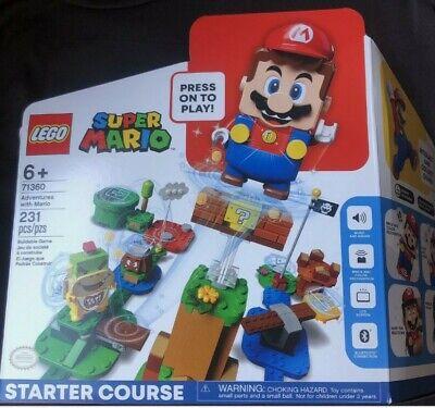 LEGO Super Mario Adventures Mario Starter Course 71360 Free Shipping!