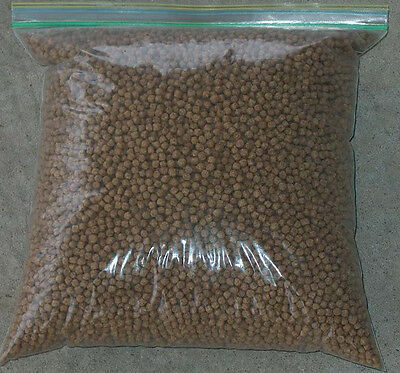 Wheat Germ Floating Koi - 5 lb Koi Food Pellet (36%  3/16