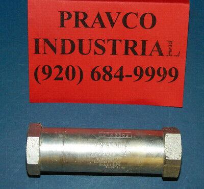 Teledyne 453-12s2-6 Hydraulic High Pressure Check Valve 12.5 Npt 5000psi