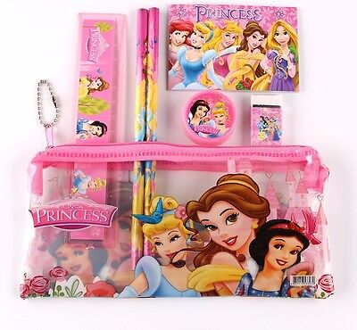 Princesses Snow White Pencil Case With Accessories US Seller New
