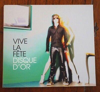 CD - Vive La Fête – Disque d'or - FDD002
