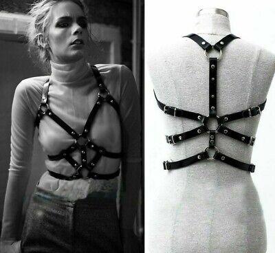 bra leather harness bondage