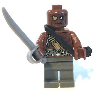 LEGO Fluch der Karibik Figur Gunner Zombie mit Degen Sebel Schwert Waffe