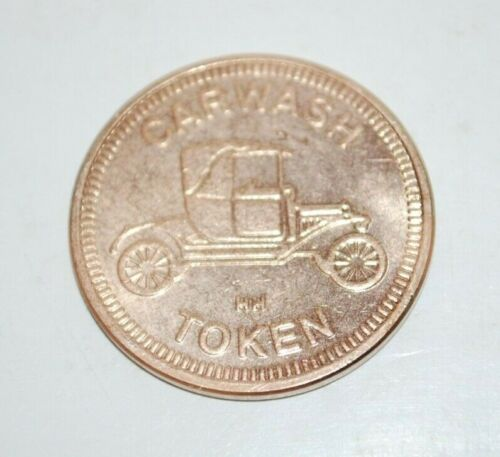 VINTAGE Car Wash HH Token No Cash Value