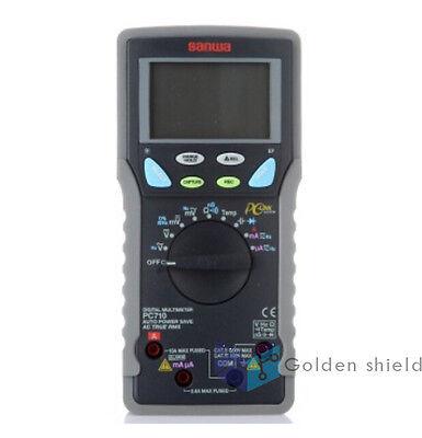 Sanwa Pc710 Digital Multimeters High Accuracy Pc Link True Rms Dual Display